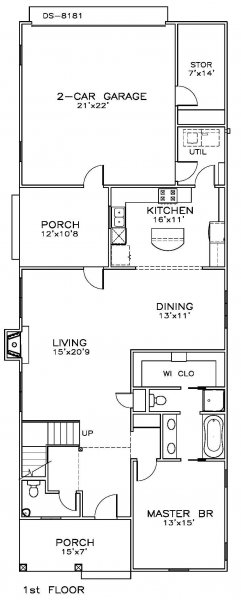 Click on house plans image to enlarge