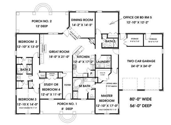 House plan central hpc 2550 5 is a great houseplan for 3 bedroom 2 5 bath house plans